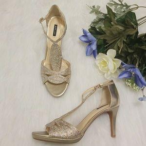 Alex Marie Jeweled Heels